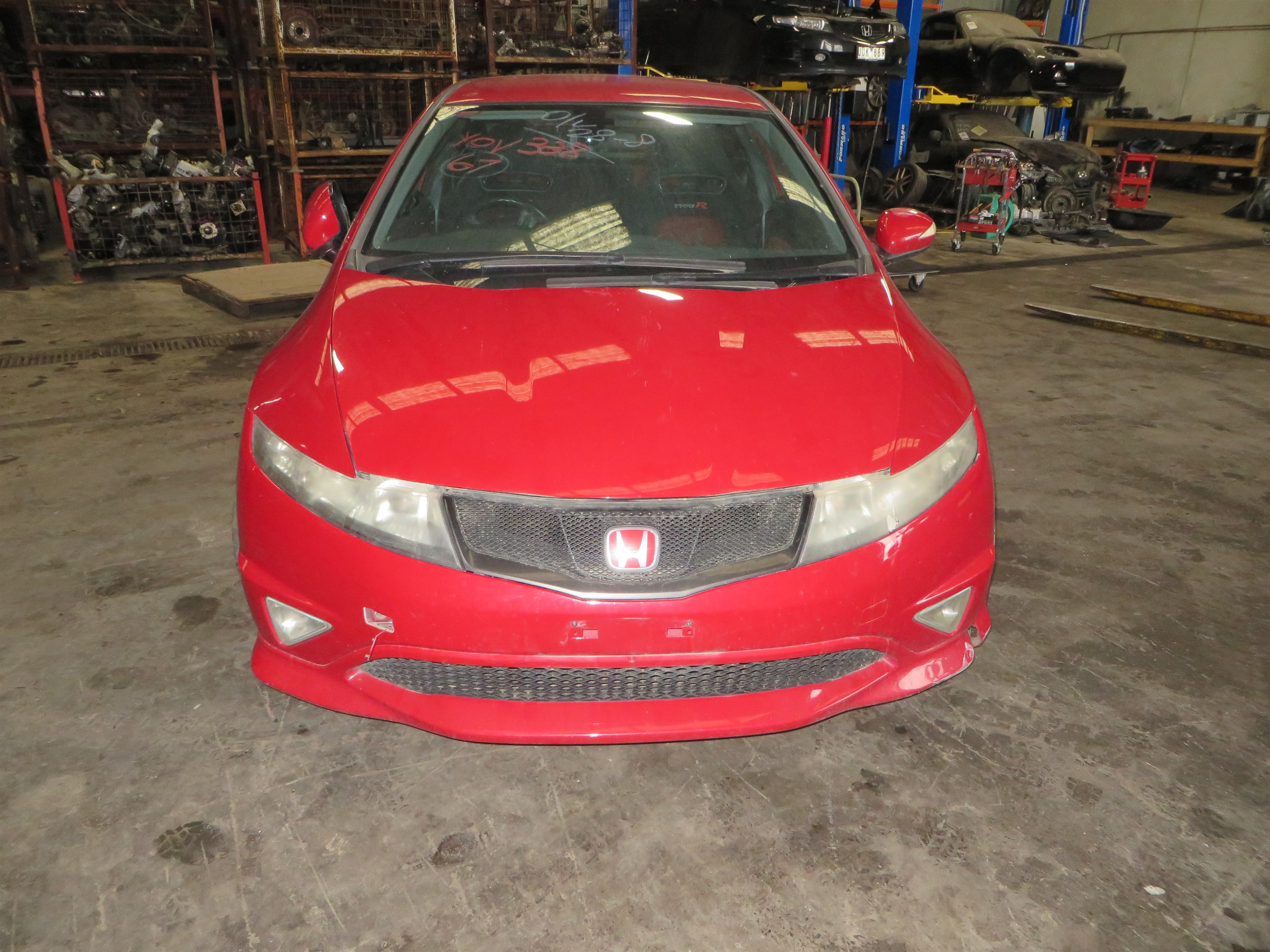FN CIVIC HB TYPE-R 2007 ML RED